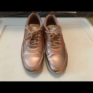 Rose gold Nike Air Max